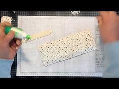 Anleitung für Mini-Pizzakarton - YouTube