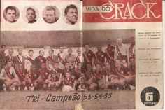 Fantástico pôster - 1955 - número especial em homenagem ao Tricampeão Carioca (Vida do Crack).