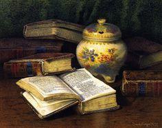 Коллекция картинок: Книжное от Claude Raguet Hirst (American, 1855-1942)
