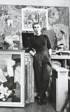 Tove Jansson -- Finnish painter / designer / illustrator - fantastic photograph of her! Tove Jansson -- Finnish painter / designer / illustrator - fantastic photograph of her! Tove Jansson, Les Moomins, Louise Bourgeois, Mode Inspiration, Art Studios, Artist At Work, Art History, Illustrators, Scandinavian