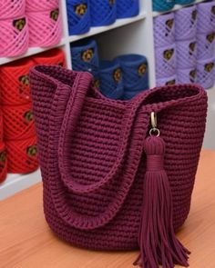 Crochet purses and handbags or authentic crochet handbags on sale then visit internet site above simply press the grey link for more details ladiesdesignerbagsdesignerhandbag bestcrochethandbag – Artofit 103 the best of trend crochet bag patterns ideas Crochet Backpack, Crochet Clutch, Crochet Handbags, Crochet Purses, Crochet Bags, Backpack Tutorial, Diy Crafts Crochet, Crochet T Shirts, T Shirt Yarn