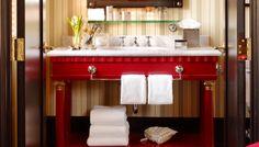 Bath Room Paint Gold Vanities 68 New Ideas Shower Shelves, Room Shelves, Small Tub, Grey Countertops, Stainless Backsplash, Painting Trim, Room Paint, Vanity, Bath Room
