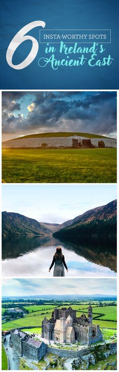 It's no wonder lots of Insta-users LOVE to photograph the many outstanding locations scattered across Ireland's Ancient East. We've chose some of our favourites to share with you. Isn't the photo of Tipperary's Rock of Cashel just stunning? And don't getus started on the imposing yet graceful image of Glendalough! Which one is your favorite?