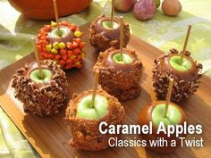 Caramel Apples – Classics with a Twist