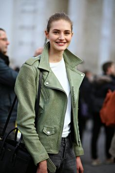 Sanne Vloet, Paris Fashion Week - aw15 - streetstyle