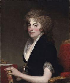 Portrait of Anne Willing Bingham, Portrait of Anne Willing, Mrs. William Bingham by Gilbert Charles Stuart, American, 1755 - 1828, 1797