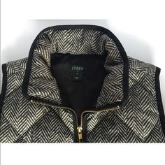 J.Crew Herringbone Excursion Quilted Vest Small J.Crew Herringbone Excursion Quilted Vest Size Small. Bought from J.Crew last year. Authentic vest, not a knock off. Worn a couple times, in great condition! J. Crew Jackets & Coats Vests