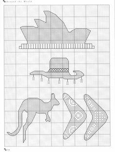 Gallery.ru / Фото #77 - Cross Stitch Silhouettes - Orlanda Beaded Embroidery, Cross Stitch Embroidery, Cross Stitch Patterns, Knitting Patterns, Cross Stitches, Cross Stitch Silhouette, Cross Stitch House, Plastic Canvas Tissue Boxes, Monochrom