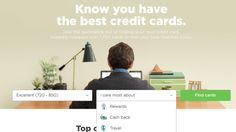 If you're in the market for a credit card, use NerdWallet to find a card that makes the most sense for you. | 18 Easy Ways To Save A  Buttload Of Money This Year