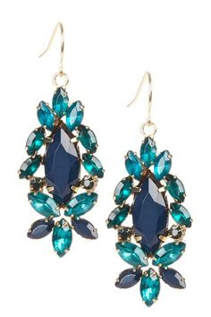 Holiday Dressing: Party-Ready Jewelry on HauteLook-Multi Stone Cluster Earring