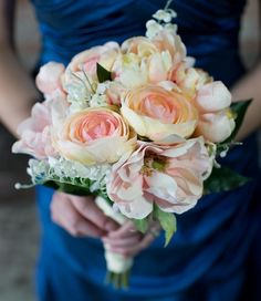 DIY Briadal flower bouquets DIY Wedding Flowers : DIY Romantic Bouquet