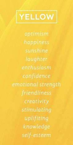 aesthetic Yellow Color Psychology www. Yellow Color Psychology www. Foto Picture, Color Meanings, Color Psychology, Psychology Facts, Shades Of Yellow, Colour Yellow, You Are My Sunshine, Happy Sunshine, Hello Sunshine