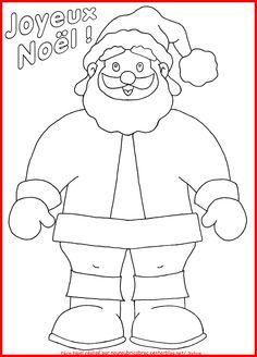 Père Noël... un coloriage