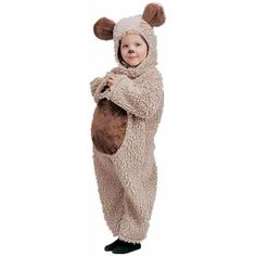 Child Oatmeal Bear Costume  sc 1 st  Pinterest & A bear costume for kids. u2026 | Kidu0027s pau2026