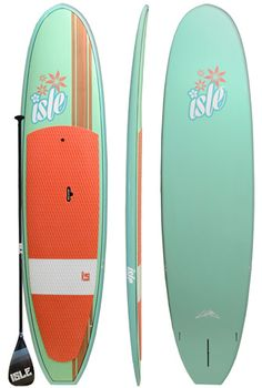 10'10 Isle Glider All Water Stand Up Paddle Board - Bamboo/Flower