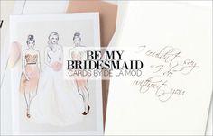 Be My Bridesmaid #weddings #bridesmaid