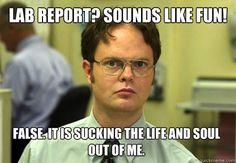 Lab report.
