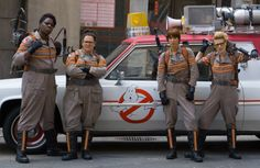"""""""Ghostbusters"""" This is not some special girl-themed version of Ghostbusters where the fact that our characters are women matters. It's not a chick flick. It's just straight-up the new Ghostbusters movie, about lovable, entrepreneurial mad scientists with giant, bizarre energy weapons, a pimped-out jalopy, and a burning desire to rid the world of evil spirits. Only this time the actors happen to be female. There's no reason they couldn't be guys."""