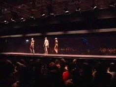 Fashion show of SS'08 Preview Collection at Pitti Uomo. Journey through time and liquid space to a futuristic world of bioluminescence, giant mechanic cephal...