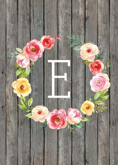TCM-Farmhouse-Flower-Monogram-5x7-E.jpg (1500×2100)