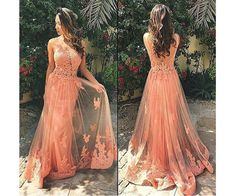 Blush Pink Prom Dresses,A-Line Prom Dress,Lace Prom Dress,Simple Prom Dress,Prom Dress,Simple Evening Gowns,Cheap Party Dress,Elegant Prom Dresses,2016 Formal Gowns For Teens
