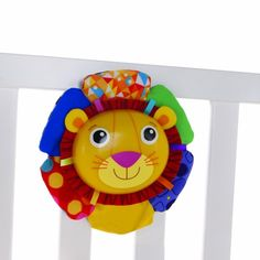 Logan the Lion Crib Soother
