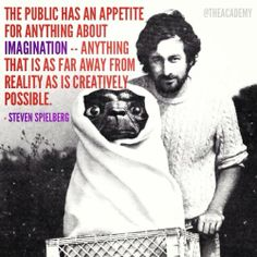 Steven Spielberg on imagination