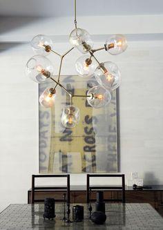 globe chandelier : Lindsey Adelman : lighting