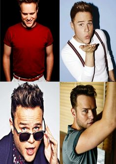 Olly Murs Cool Pose English Singer Songwriter Television Presenter Actor Poster