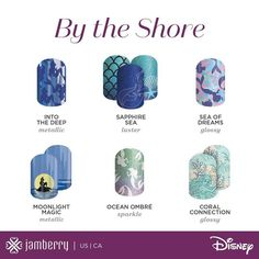 Look at this stuff! Isn't neat? Wouldn't you think my collection's complete?.....Experience the new Disney Collection by Jamberry!! My only problem is which one to get first?! #loveprincessariel #jamberrynails #jamberry #disneycollectionbyjamberry #disneyjn Clareambriz.jamberry.com