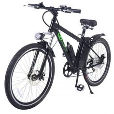 Goplus Electric Bicycle Sports Mountain Bike Variable Speed Lithium Battery w/Cup Holder, Electric Mountain Bikes Electric Mountain Bike, Mountain Bicycle, Electric Bicycle, Mountain Biking, Giant Trance, Mountain Bike Accessories, Bicycle Accessories, Rs4, Bicycles