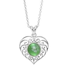 Pendant Filligree Heart - A Passion For Living Inc.
