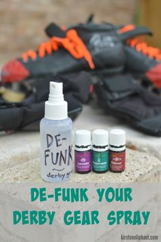How to clean and care for your roller derby gear with essential oils! (And a free ingredient: SUNLIGHT.)