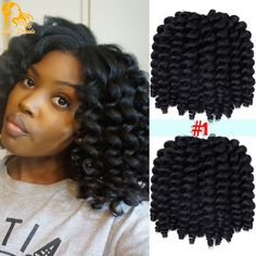 Cheap twist braid, Buy Quality crochet braids directly from China curl crochet braids Suppliers: Bulk Bounce Jamaican Twist Afro Fluffy Wand Curls Twist Braids Freetress Havana Mambo Wand Curls Crochet Braids Twist Braid Hairstyles, Crochet Braids Hairstyles, Twist Braids, African Hairstyles, Weave Hairstyles, Hairstyles 2016, Elegant Hairstyles, Braid Styles With Weave, Different Braid Styles