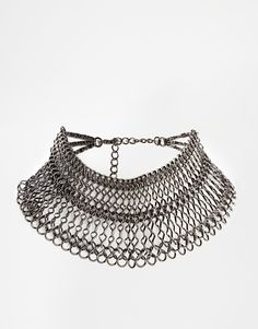 Enlarge ASOS Statement Chain Choker Necklace