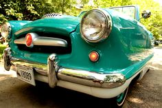 Nothing like a turquoise Nash Metro