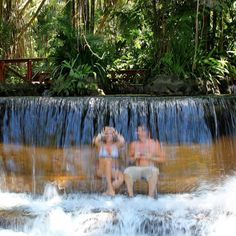 Prepare for a vacation unlike any other. Unwind in the @tabaconresort hot springs for a truly one of a kind Costa Rica rainforest getaway!  #vacations #crexperts