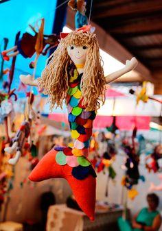 Feira de Artesanato Revelando São Paulo/Brasil #Sereia #Mermaid #Handmade
