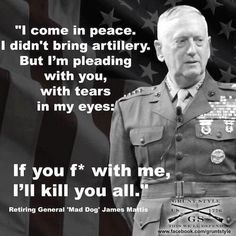 RNR Kentucky (@RNRKentucky) | Twitter.... #AmericaFirst Congratulations Gen James Mattis for your new role Sec of Deffense #PresidentElectTrump made a excellent choice #MAGA.....