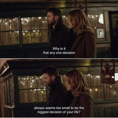 Best Movie Quotes : – Picture : – Description BeforeWeGo It's the series of small decisions that got us here. The big decisions are a test to see what you've learnt from the small decisions. Before We Go Quotes, Go For It Quotes, Before We Go Movie, Tv Show Quotes, Film Quotes, Movie Captions, Cinema Quotes, Citations Film, Favorite Movie Quotes