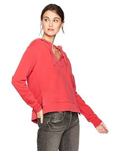 a88aa97f8c LAmade Womens Ren Hoodie Chili Pepper Large ** Read more at the image link.