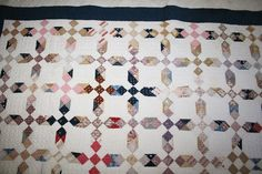 Barbara Brackman's MATERIAL CULTURE: Tim Quilts with Ladies' Album Jellyroll