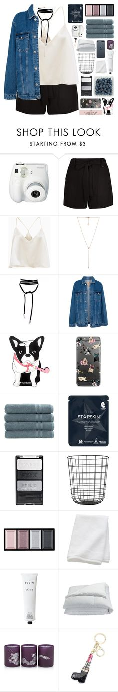 """""""virago"""" by randomn3ss ❤ liked on Polyvore featuring Fujifilm, New Look, Carbon & Hyde, Pull&Bear, Linum Home Textiles, Starskin, Clé de Peau Beauté, CB2, Rodin Olio Lusso and Frette"""
