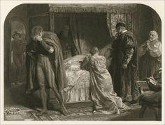 Romeo and Juliet. Cassell & Company Limited, London, 1884. Illustrator Sir. Francis Bernard Dicksee.