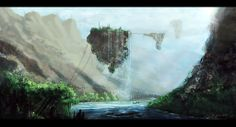 Sky People, Waterfall, Outdoor, Outdoors, Waterfalls, Outdoor Games, The Great Outdoors