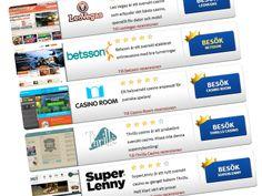 Här har vi samlat de bästa svenska casinona på nätet för dig! http://www.casino.se/svenska-casinon