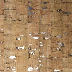 natural gilded cork accent wall