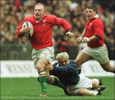 Neil Jenkins and Scott Gibbs - Welsh rugby
