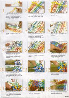 REGINA ARTS IN TEXTIEL Croche: Macrame