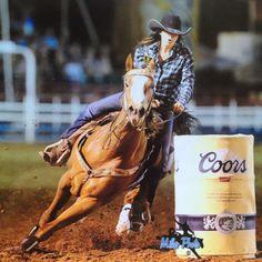 Prescott Rodeo. Barrel racing